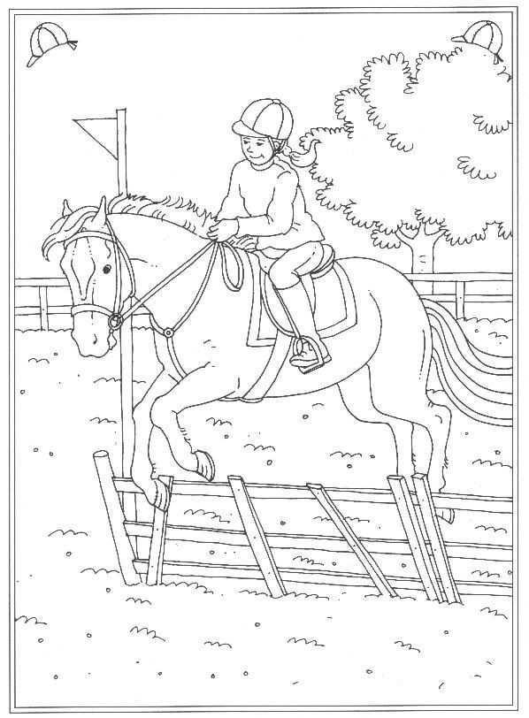 63 Kleurplaten Van Paarden Horse Coloring Books Horse Coloring Pages Kids Doodles