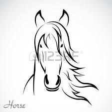 Afbeeldingsresultaat Voor Paardenhoofd Kleurplaat Paardenhoofd Fotoboek Pyrografie