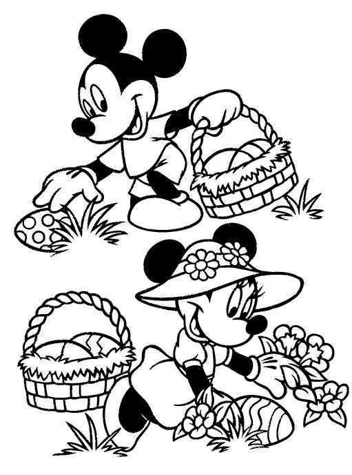 Kids N Fun Kleurplaat Pasen Met Disney Pasen Met Disney Kleurboek Gratis Kleurplaten Kleurplaten