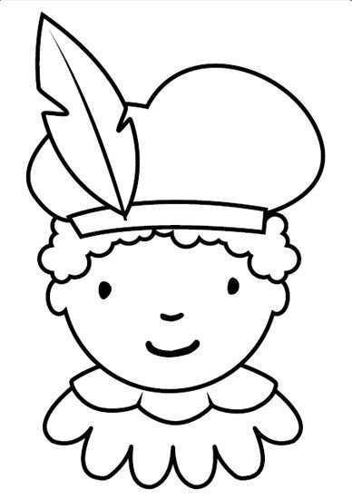 Kleurplaten Sinterklaasfeest Knutselen Sinterklaas Sinterklaas Zwarte Piet