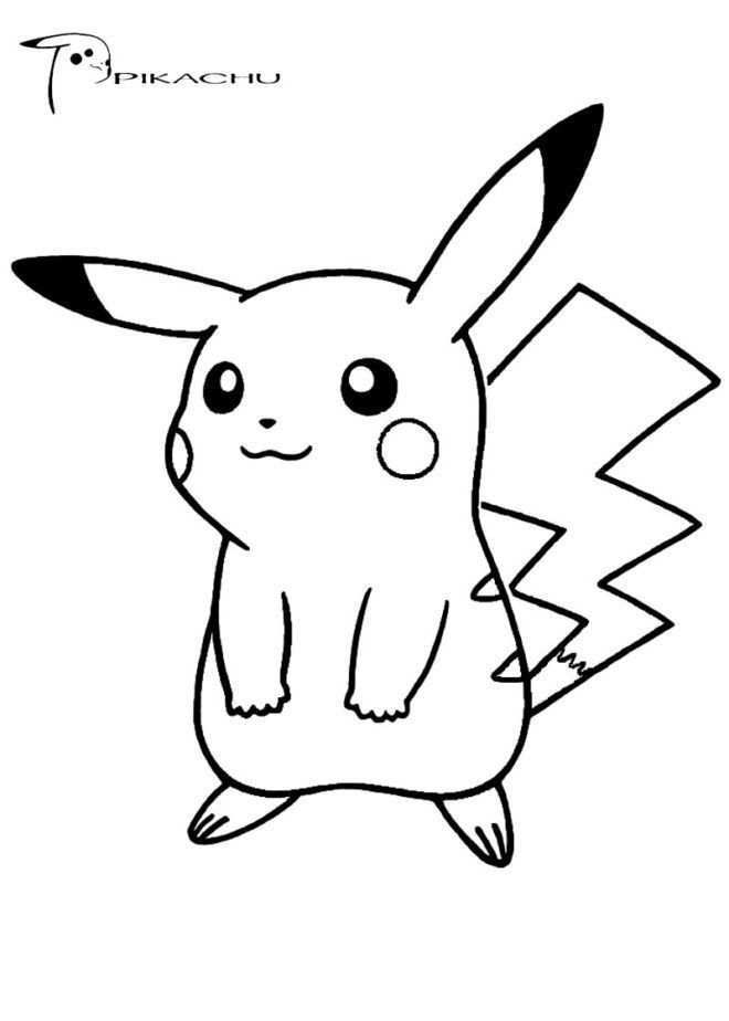 Pokemon Coloring Page Pikachu Pokemon Coloring Pages Free Download Youngandtae Com Pikachu Coloring Page Pokemon Coloring Pages Pokemon Coloring