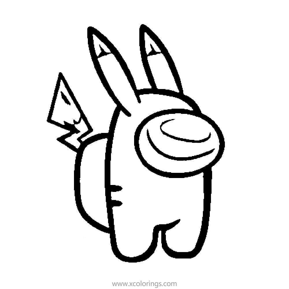 Among Us Coloring Pages Pikachu Cute Coloring Pages Cartoon Coloring Pages Coloring Pages