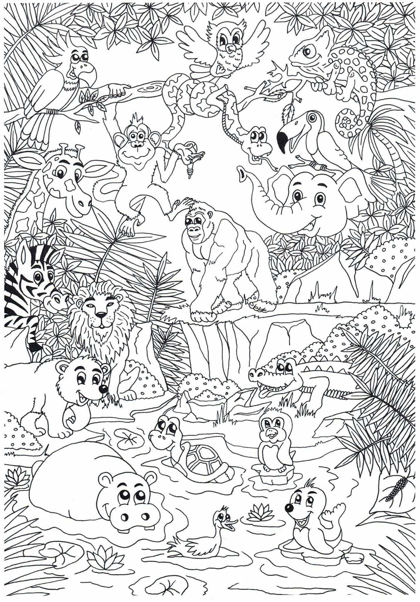 Pin Van Kim Haasnoot Op Kid S Stuff Dieren Kleurplaten Gratis Kleurplaten Kleurplaten