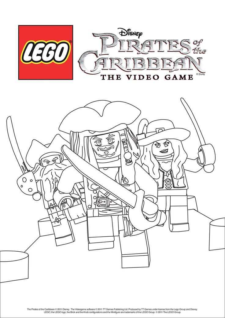 Printables So Hard To Find Lego Pirates Of The Caribbean Coloriage Lego Lego Coloriage