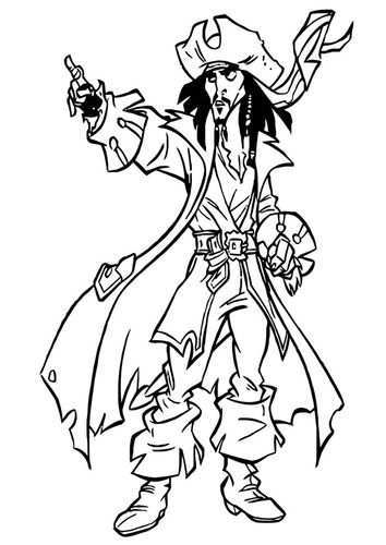 Coloring Page Pirates Of The Caribbean Img 20754 Coloring Pages Disney Coloring Pages Jesus Coloring Pages