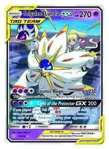 Nieuwe Pokemon Tcg Set Sun Moon Cosmic Eclipse En Distributie Shiny Solgaleo En Lunala Pokemon United Pokemonkaarten Pokemon Pokemon