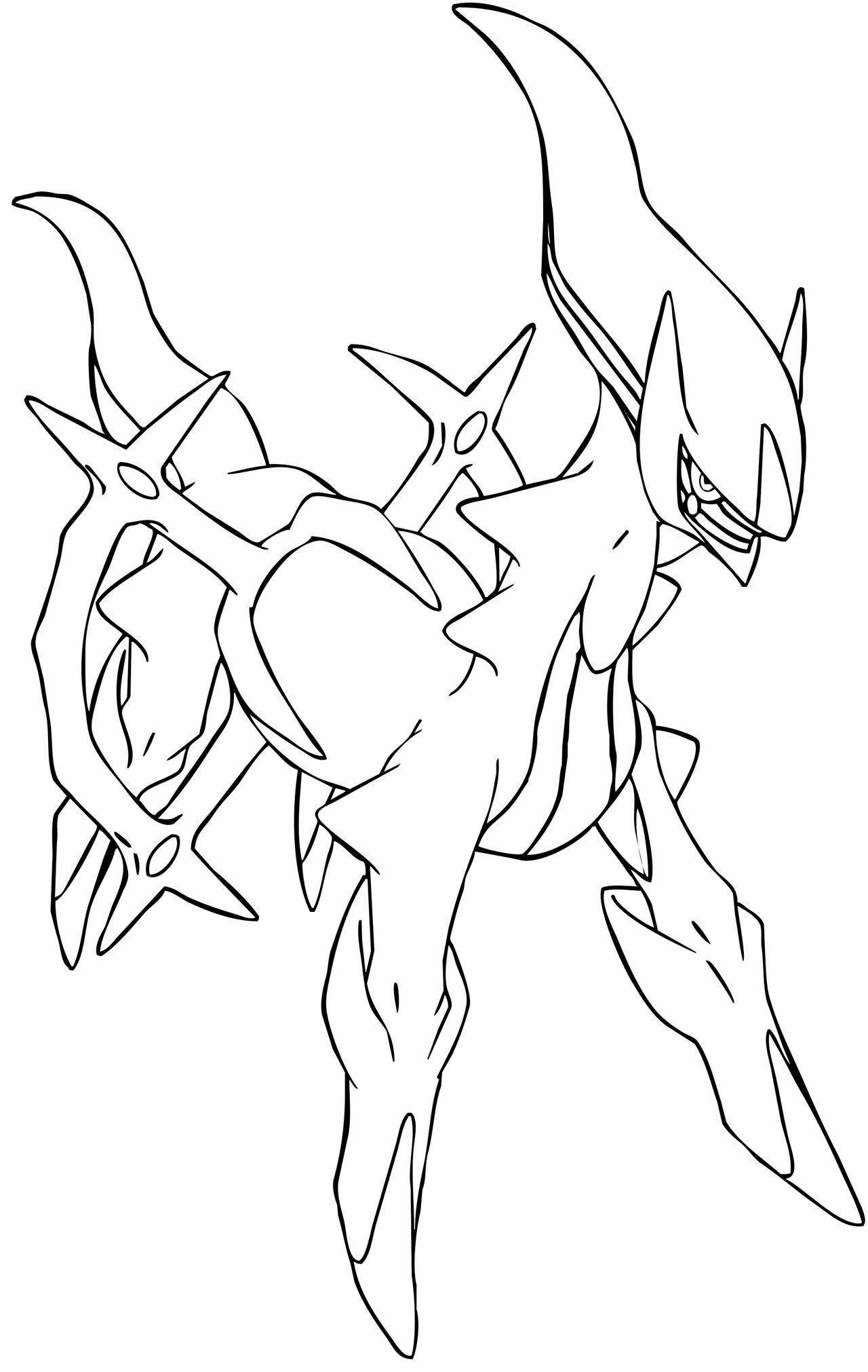 Arceus Pokemon Para Colorear Pagina Colorear Pokemon Dibujos Para Colorear Pokemon Paginas Para Colorear