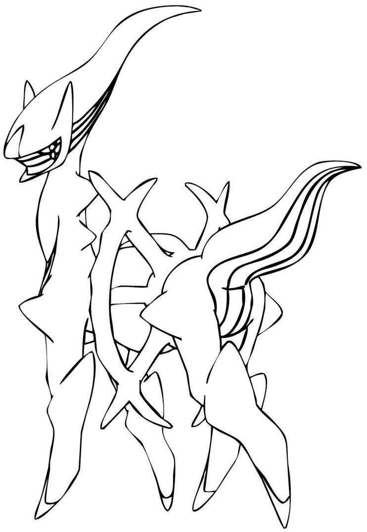 Arceus Pokemon Coloring Page Youngandtae Com In 2020 Pokemon Coloring Pages Pokemon Coloring Coloring Pages For Kids