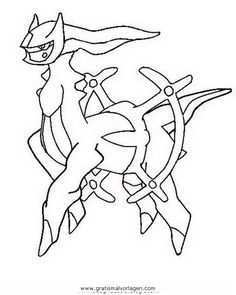 Ausmalbilder Pokemon Arceus Arceus Ausmalbilder Pokemon Pokemon Desenho Pokemon Para Colorir Pokemon