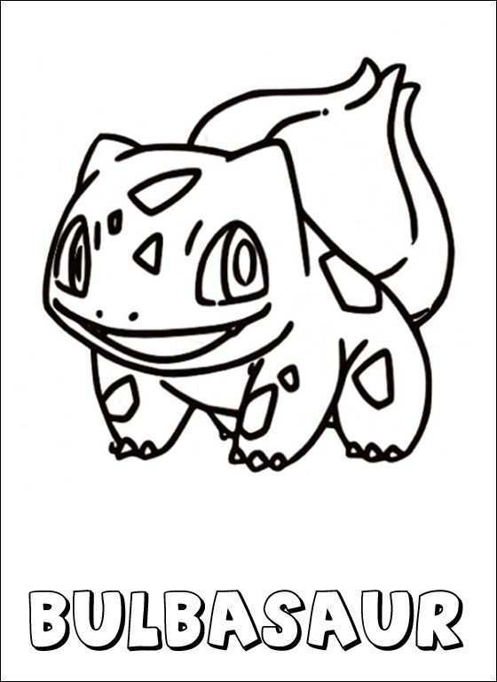 Pokemon Coloring Page Bulbasaur Coloring Pages Pokemon Coloring Pages Pokemon Coloring Coloring Pages