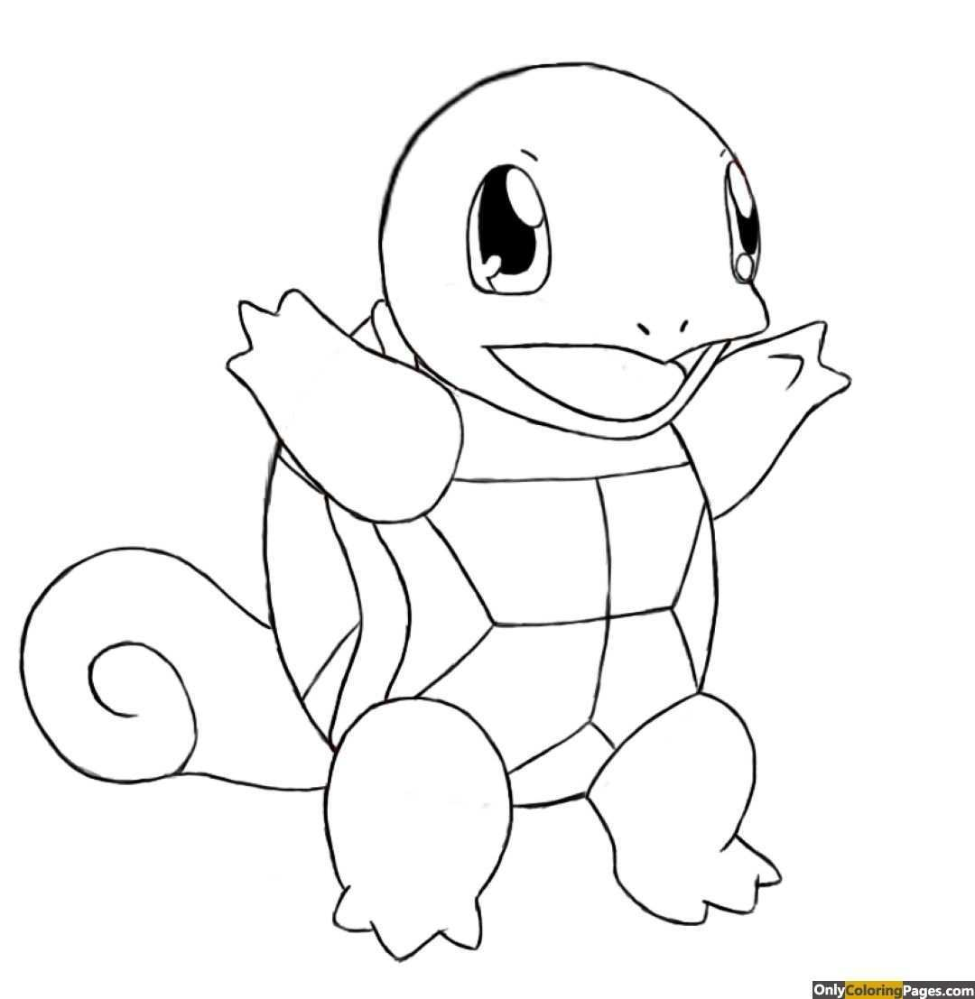 Pokemon Coloring Pages Squirtle Pokemon Coloring Pages Pokemon Coloring Pokemon Sketch