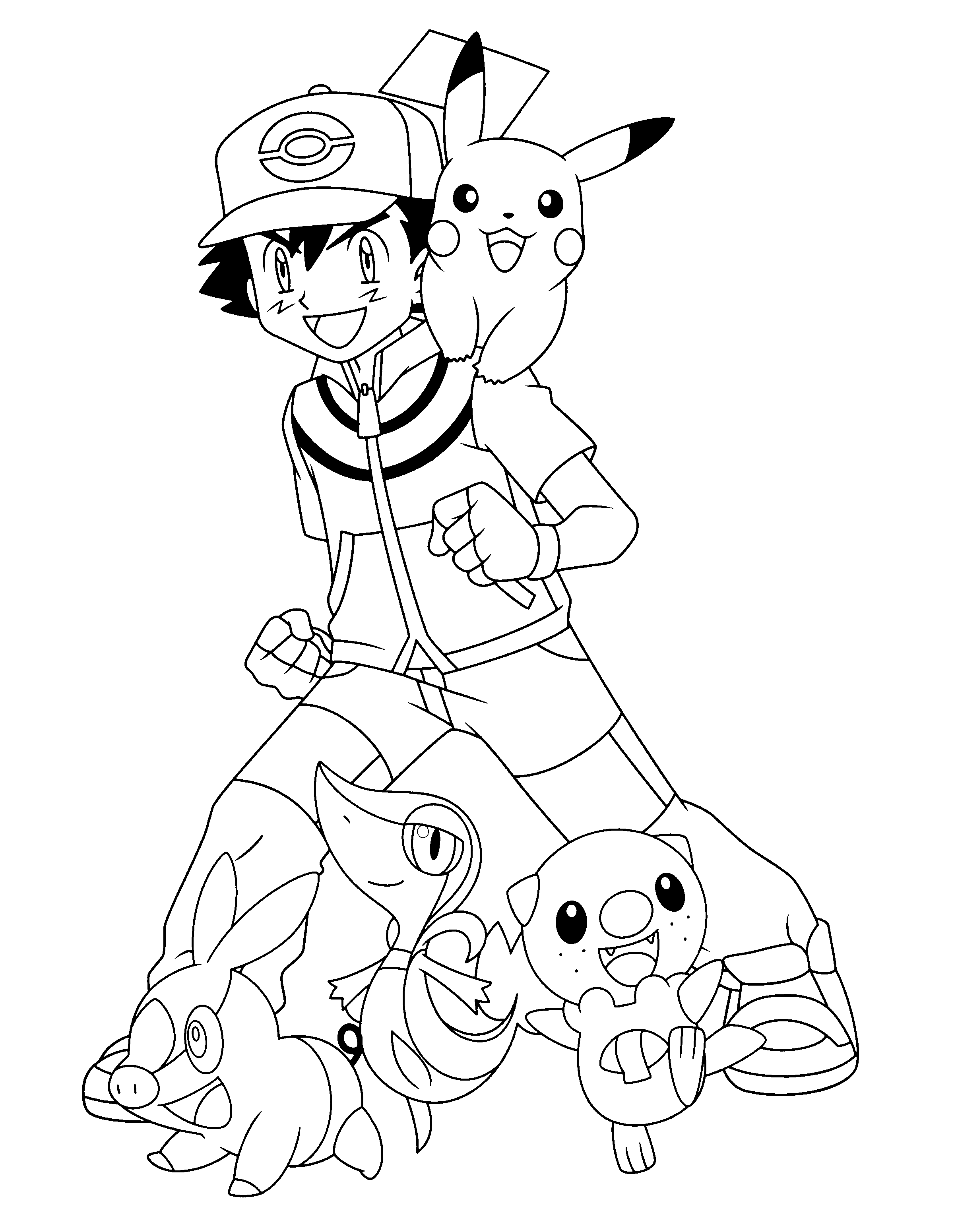 Free Download Pokemon Ash Coloring Pages Pokemon Coloring Pages Pokemon Coloring Avengers Coloring Pages