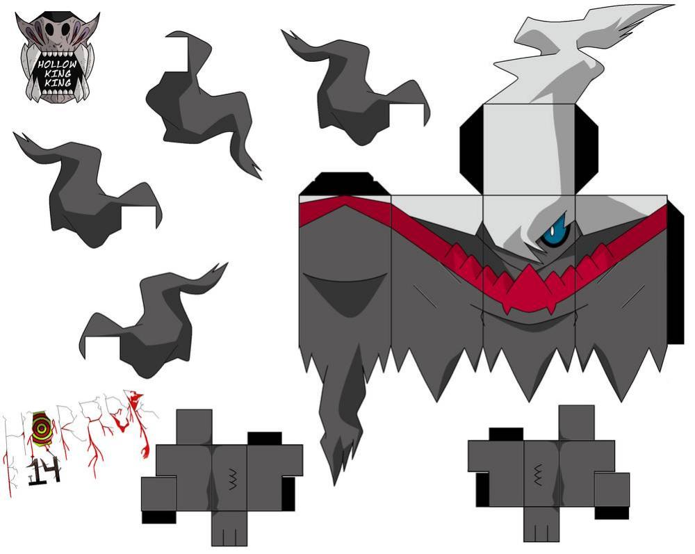 Darkrai By Hollowkingking On Deviantart Papercraft Pokemon Anime Crafts Origami Paper Art