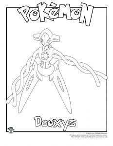 Deoxys Coloring Page Woo Jr Kids Activities Coloring Pages Coloring Pages For Kids Pokemon Coloring