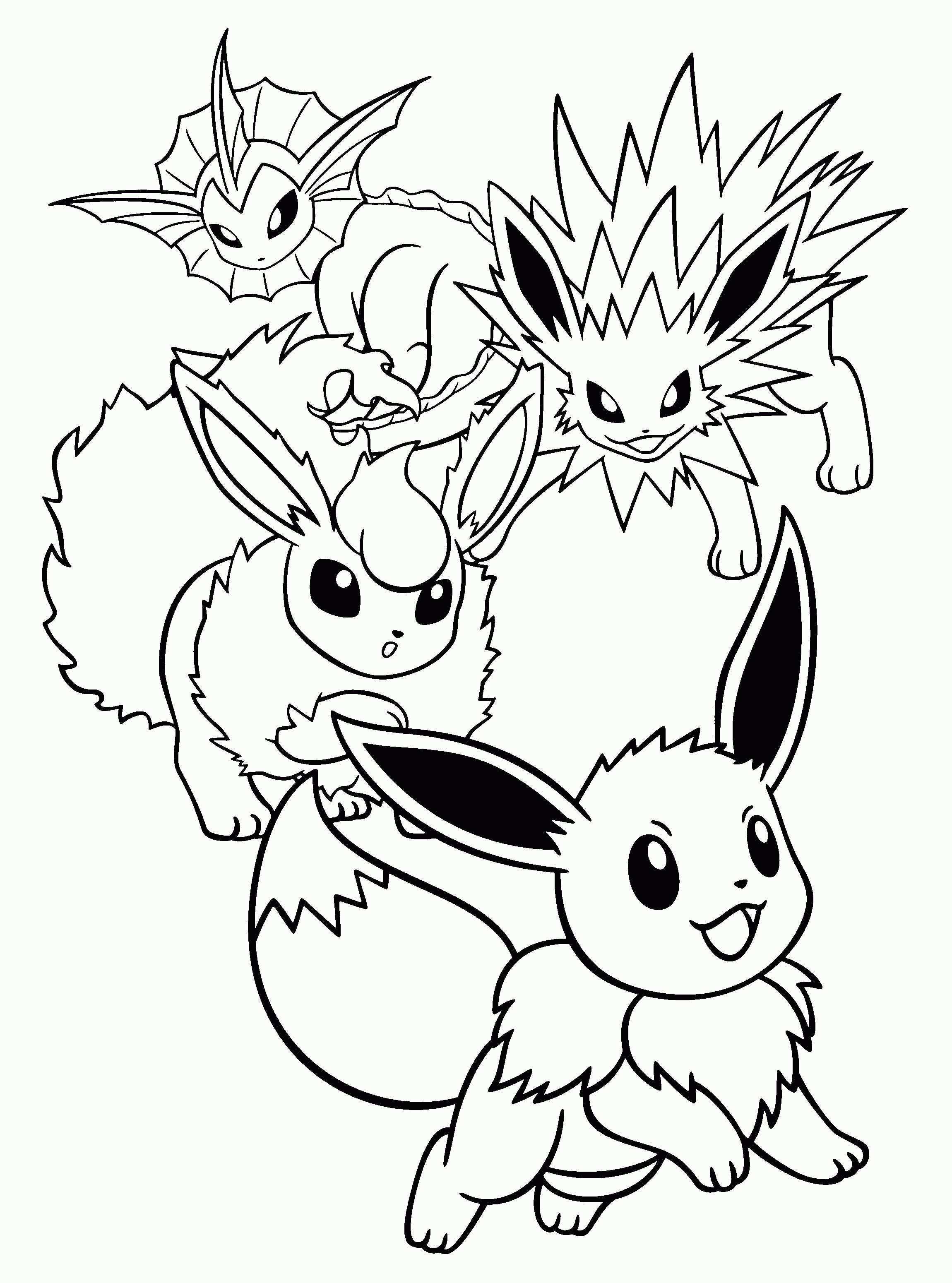 Pin Van De Alk Op Pokemon Kleurplaten Eenvoudige Tekeningen Pokemon