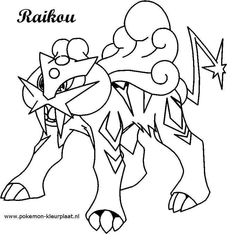 Kleurplaat Raikou Pokemon Kleurplaat Nl Pokemon Coloring Pages Pokemon Coloring Horse Coloring Pages