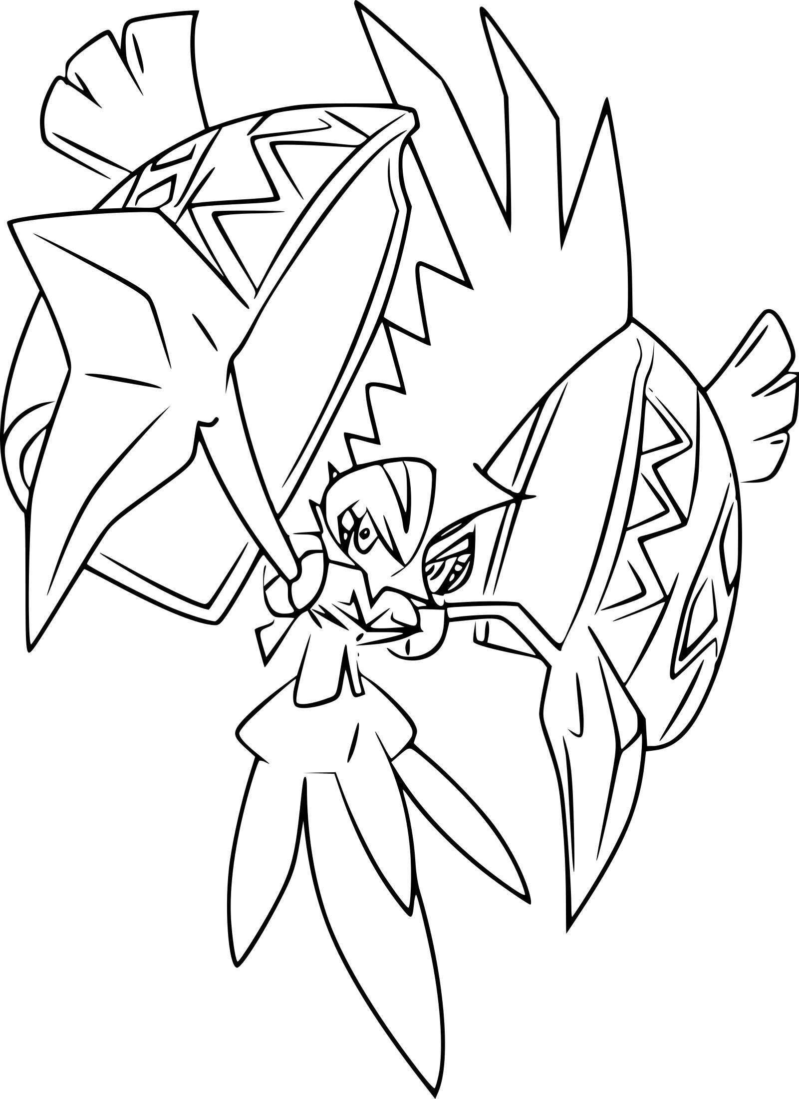 Pokemon Coloring Pages Tapu Koko From The Thousand Pictures On The Internet About Pokemon C Moon Coloring Pages Pokemon Coloring Pages Cartoon Coloring Pages