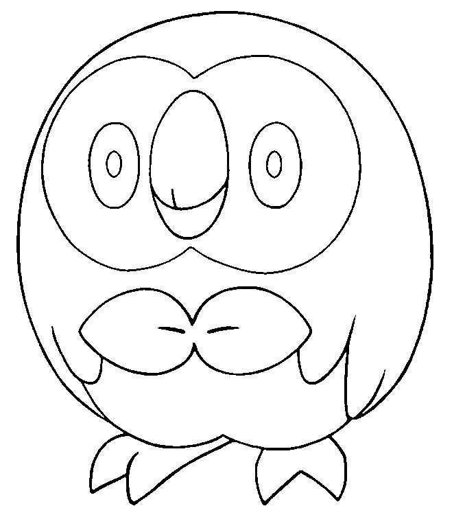 Coloring Pages Pokemon Rowlet Drawings Pokemon Pokemon Coloring Pages Pokemon Coloring Sheets Pokemon Coloring