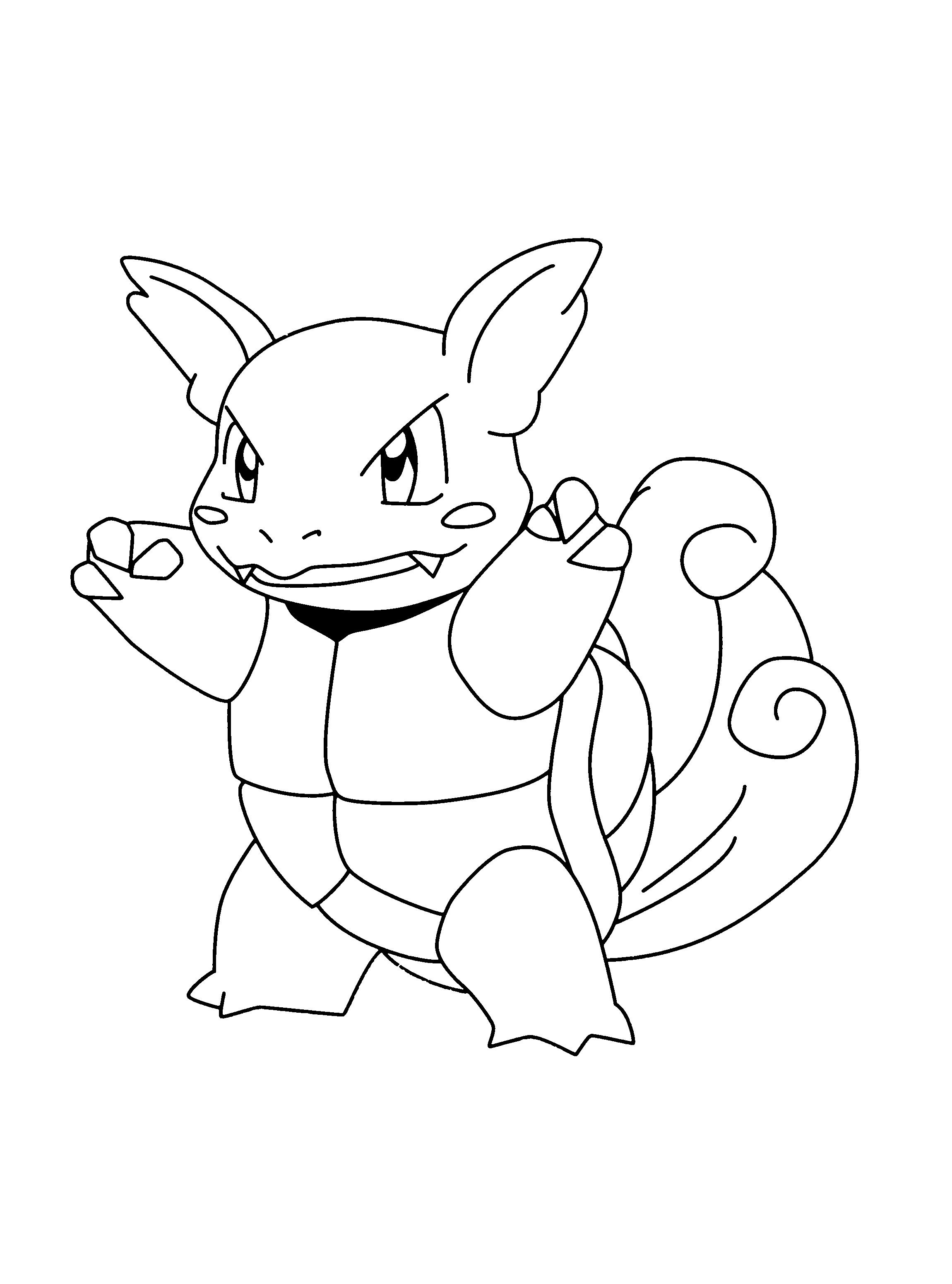 Wartortle Pokemon Desenhos Para Colorir Pokemon Desenhos