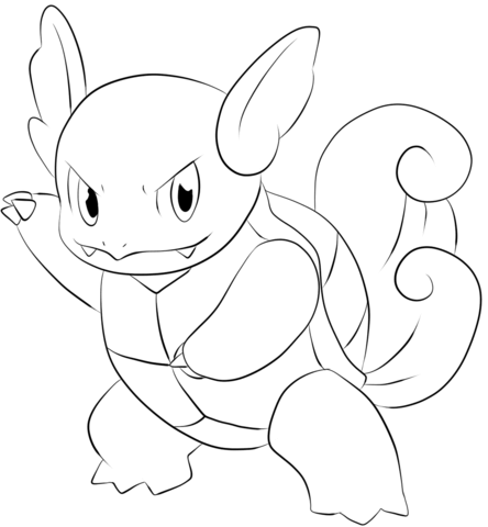 Wartortle Coloring Page Pokemon Coloring Pages Pokemon Coloring Sheets Pokemon Coloring