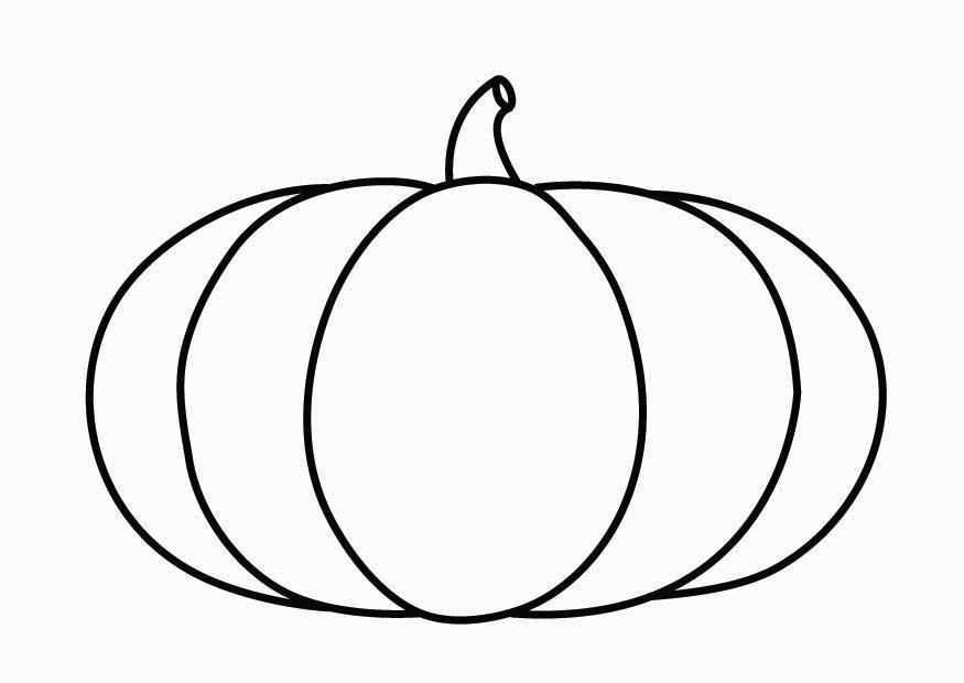 Kleurplaat Pompoen Afb 26868 Pumpkin Coloring Pages Halloween Coloring Pages Coloring Pages