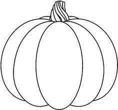 Pompoen Kleurplaat Google Zoeken Herfstwerkjes Halloween Pompoenen Herfst Halloween