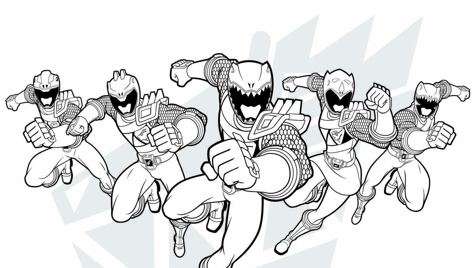 Pin On Power Ranger Coloring Pages And Videos