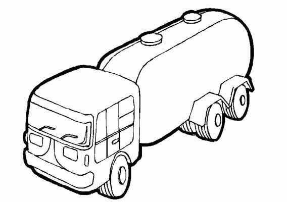 Kleurplaat Tankauto Kleurplaten Raceauto