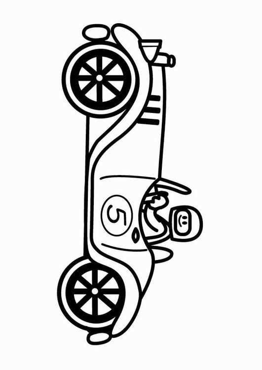 Kleurplaat Oldtimer Raceauto Gratis Kleurplaten Om Te Printen Coloring Pages Free Coloring Sheets Coloring Pictures
