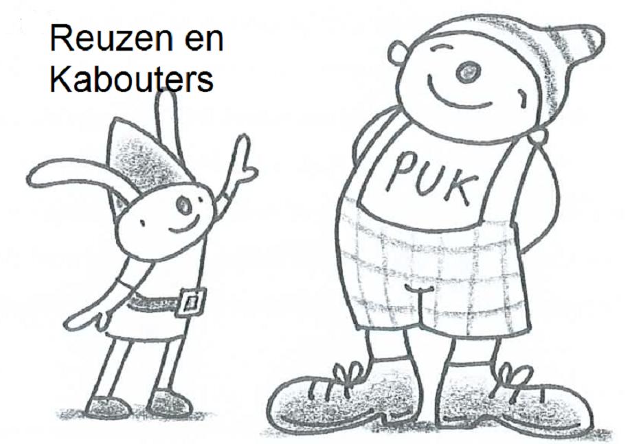 Uk En Puk Reuzen En Kabouters Kleurplaat Kabouter Thema Peuter Thema