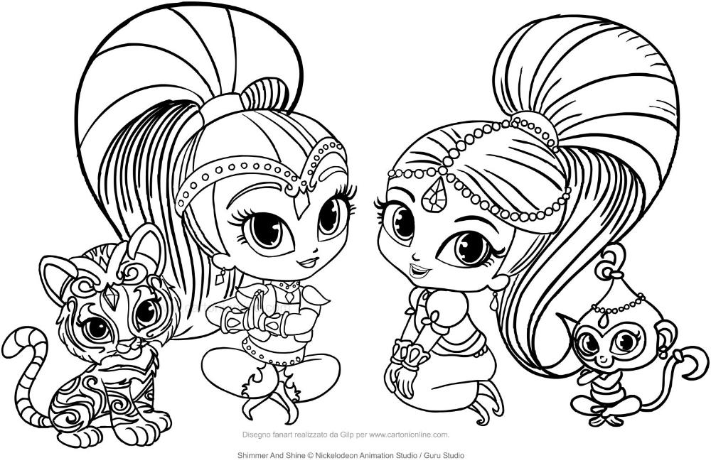 Kleurplaat Van Shimmer En Shine Google Zoeken Kleurplaten Kinderkleurplaten Cartoon Tekeningen