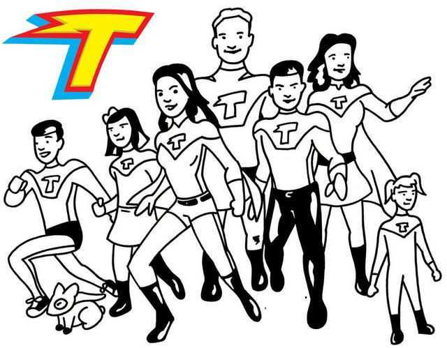 All Thundermans Characters Coloring Page Coloring Pages Coloring Pages For Kids Coloring Pages For Boys