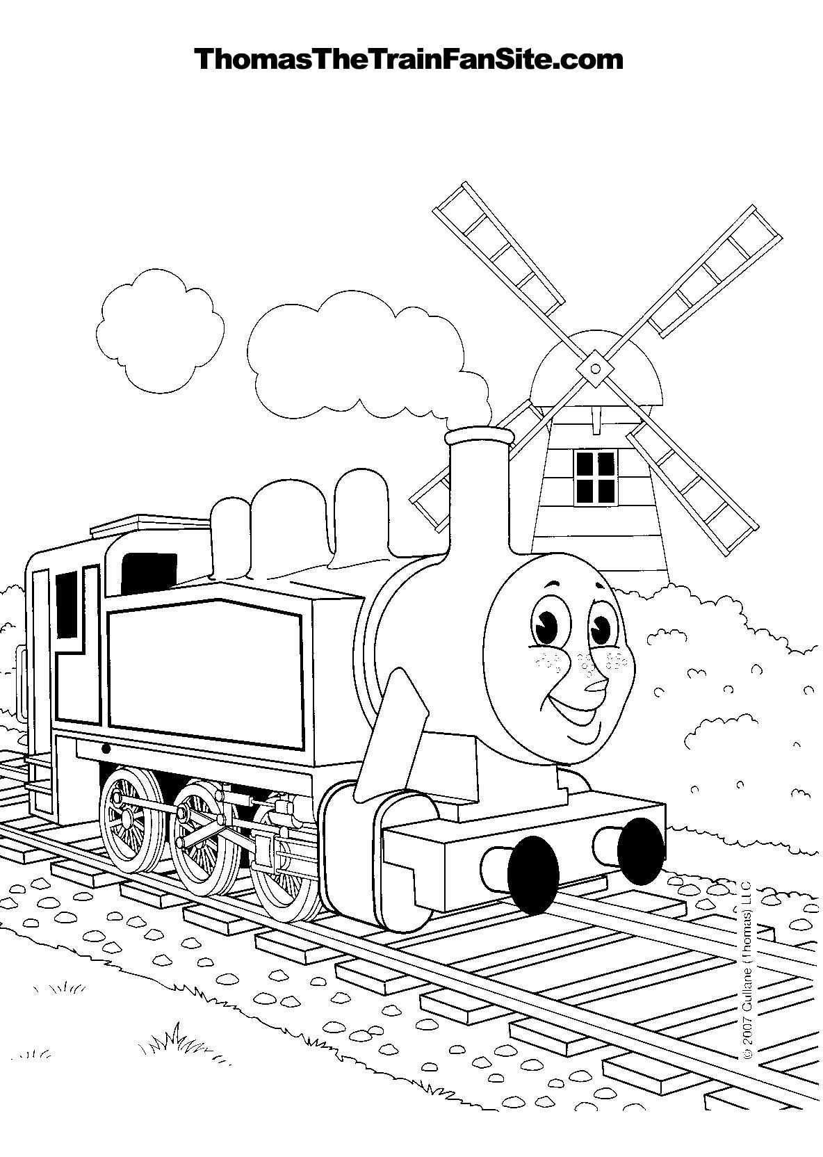 Thomas The Tank Engine Train Coloring Pages Sheets Train Coloring Pages Coloring Books Coloring Pages