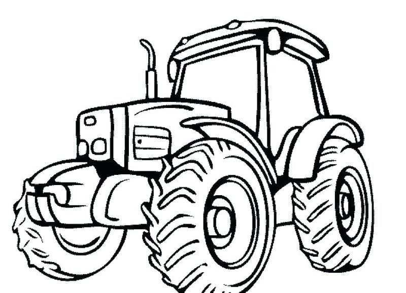 Printable Tractor Coloring Pages For Kids Free Coloring Sheets Tractor Coloring Pages Tractor Drawing Coloring Pages For Kids