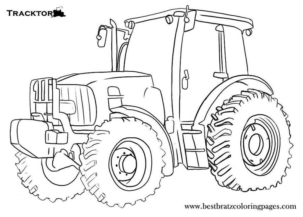 Pin Van Anwarsidiq Op Tractors And Construction Gratis Kleurplaten Kleurplaten Tractor