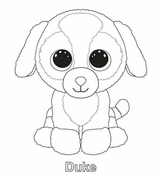30 Best Ty Beanie Kleurplaten Images On Pinterest Kleurplaten Knutselen Voor Kinderen Voor Kinderen