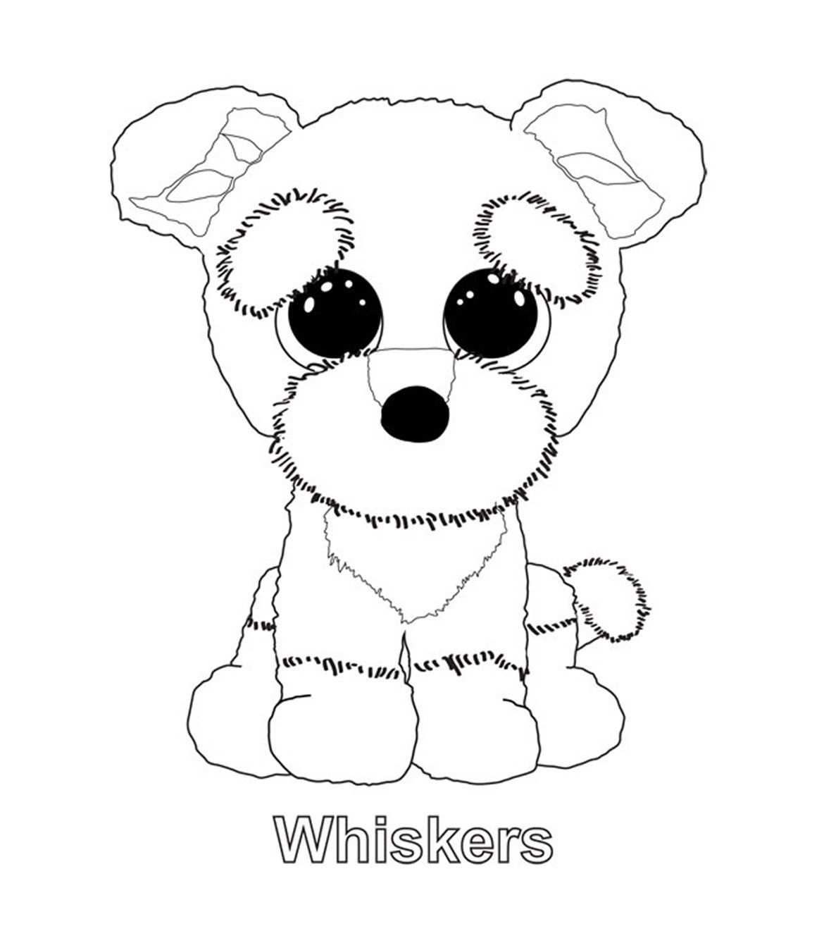 Ty Art Gallery Puppy Coloring Pages Animal Coloring Pages Beanie Boo Birthdays