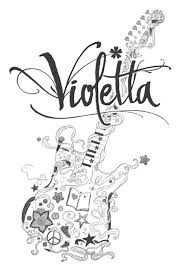 Violetta Kleurplaten Google Zoeken Cahier Personnalise Cahier