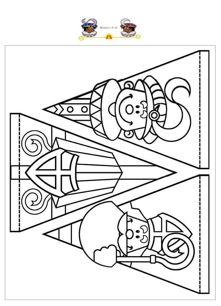 8947f52cc1c13f7569db5d6f7b5fd15c Jpg 736 1018 Vlaggenlijn Sinterklaas Sinterklaas Knutselen Sinterklaas