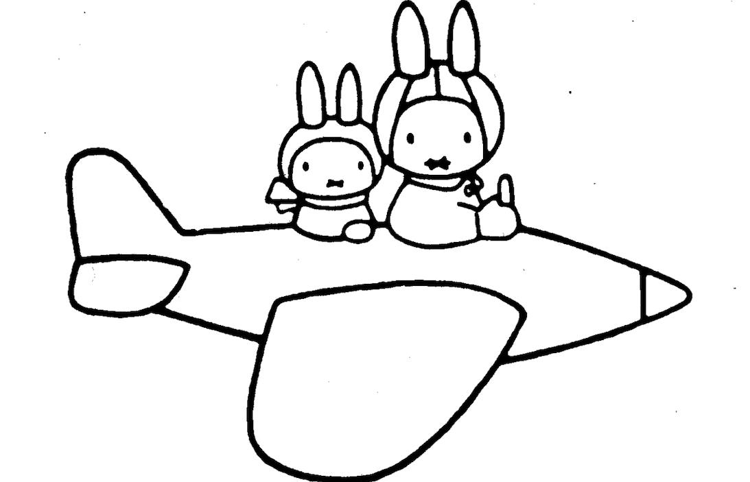 Tips Voor Het Vliegen Met Een Baby Vervoer Knutselen Kinderkleurplaten Knutselen Nijntje