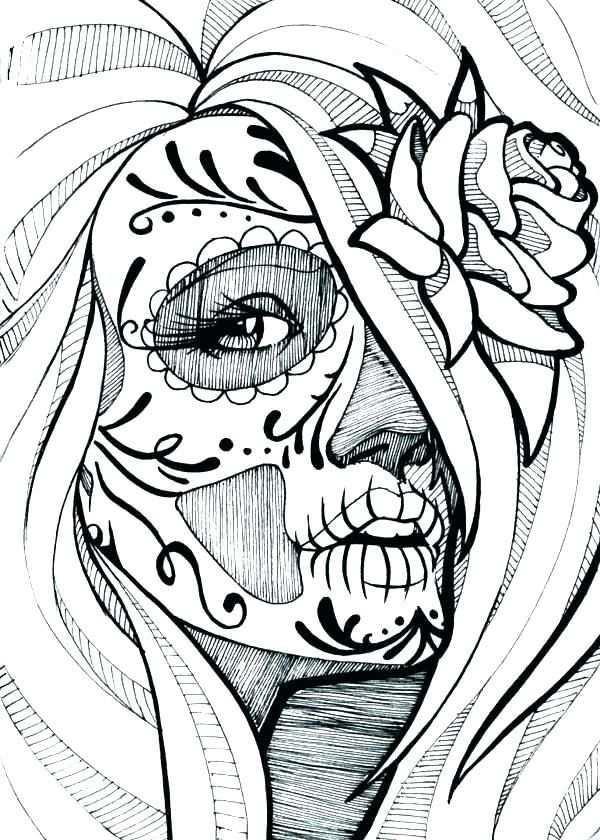 Afbeeldingsresultaat Voor Skelet Kop Tekenen Schets Ideeen Doodshoofd Tatoeage Ontwerp Kunst Verwijzing