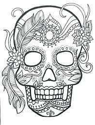 Pin Van Op Candy Skulls Mandala Kleurplaten Kleurboek Lijntekeningen
