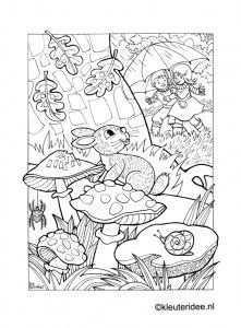 Kleurplaat Herfst Regen Paraplu Kleuteridee Nl Autumn Rain Umbrella 5 Preschool Coloring Kleurplaten Dieren Kleurplaten Adult Coloring Pages