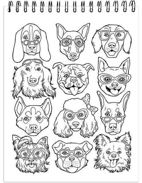 Pin By Bea Boer On A Imprimer Chiens Dog Coloring Book Coloring Pages Coloring Books