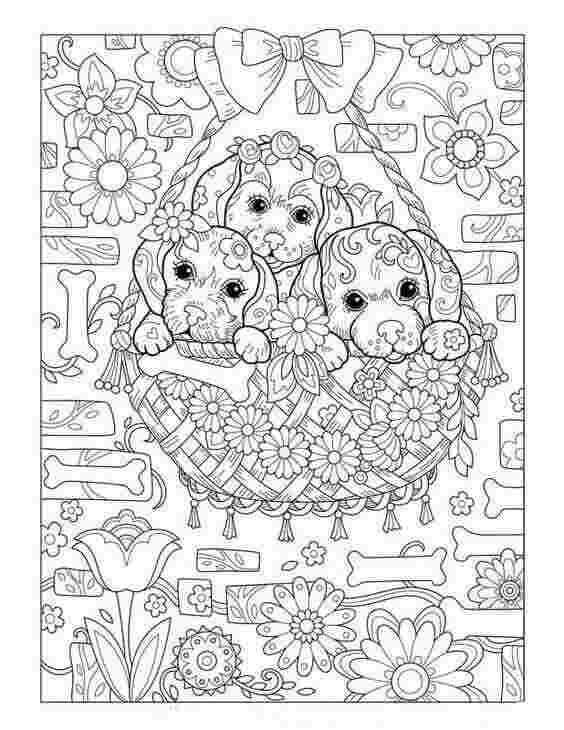 Dog Coloring Pages For Adults Puppy Coloring Pages Dog Coloring Book Animal Coloring Pages