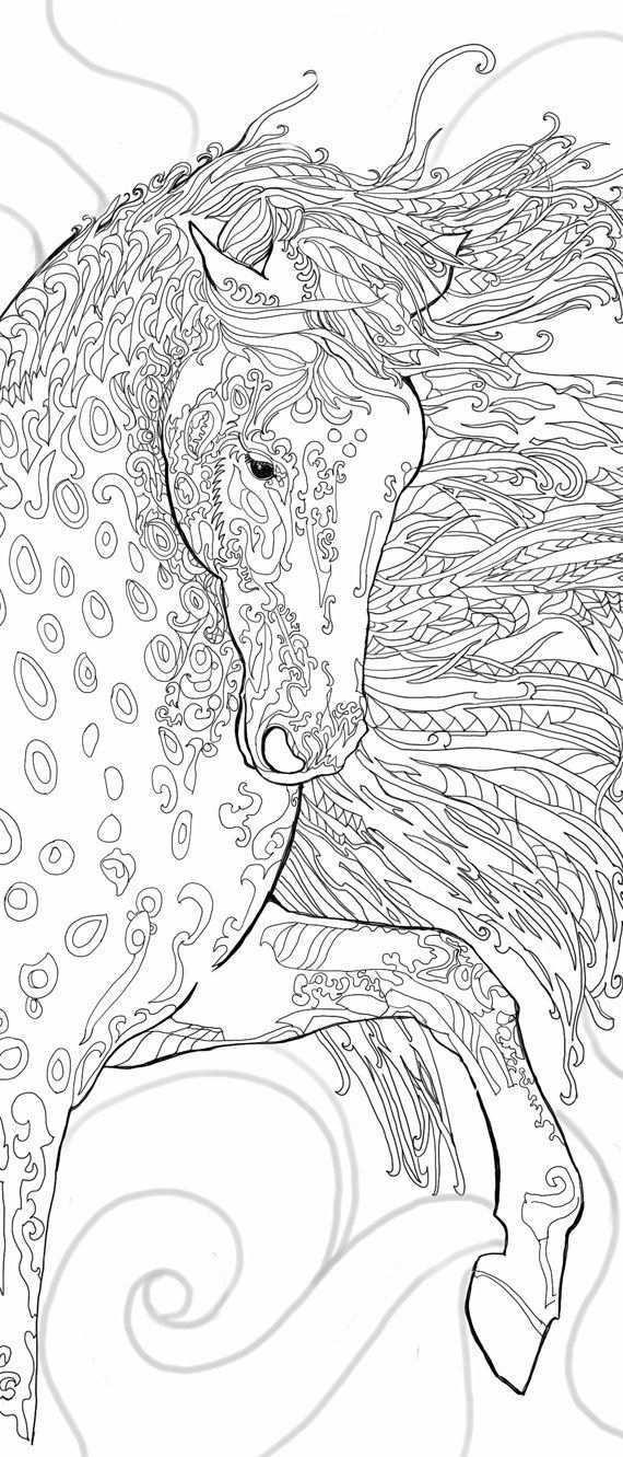 Pagina S Afdrukbare Volwassen Kleuren Kleurboek Paard Door Valrart Kleurplaten Adult Coloring Pages Gratis Kleurplaten