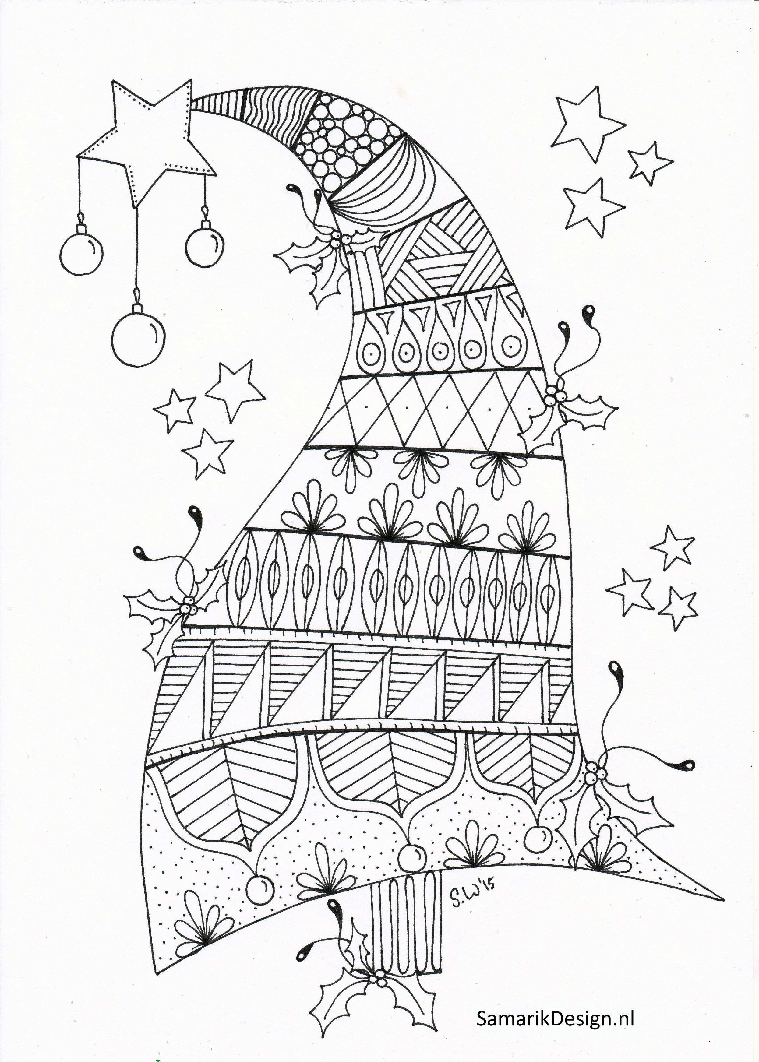 Kleurplaat Voor Volwassenen Christmas Kleurplaten Kleurplaten Voor Volwassenen Patronen