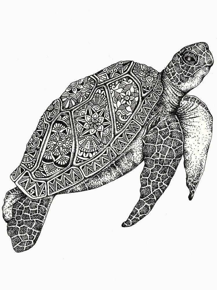 Best Sleeve Tattoos Sleevetattoos Turtle Art Turtle Painting Mandala Design Art