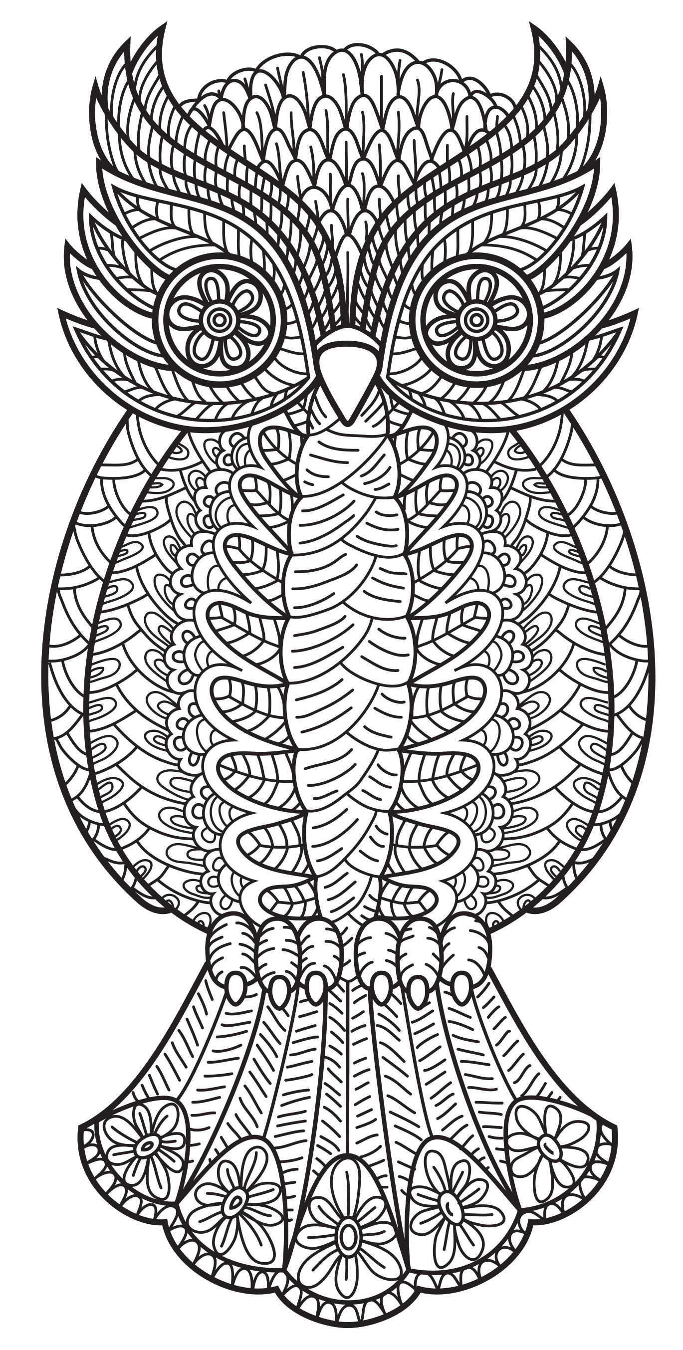 Pattern Coloring Books Owl Coloring Pages Animal Coloring Pages Coloring Pages