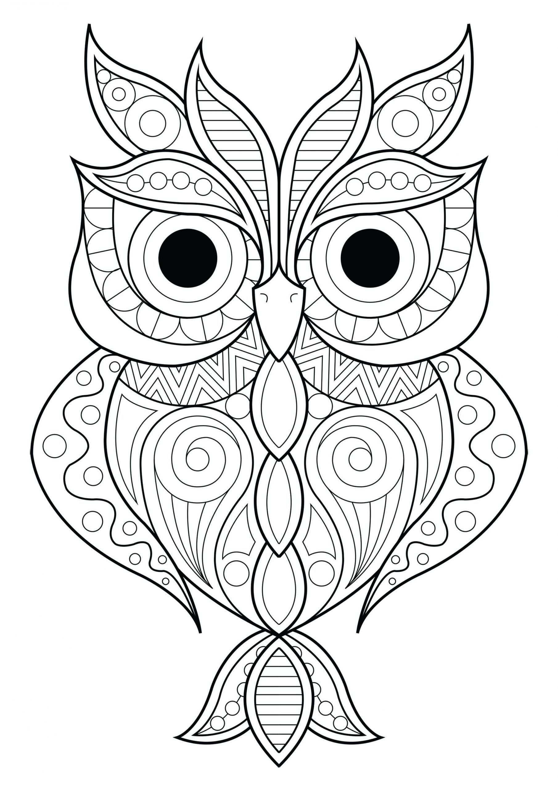 Volwassen Kleuren Uilen 2 Volwassen Kleuren Uilen 2 In 2020 Owl Coloring Pages Animal Coloring Pages Mandala Coloring Pages